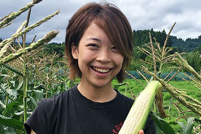 summer-fall vegetables Producer Kanako Watanabe