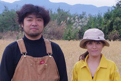 rice Producers Koji and Emi Kato