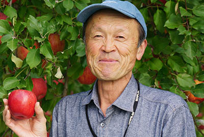 apples Producer Yukihiro Abe